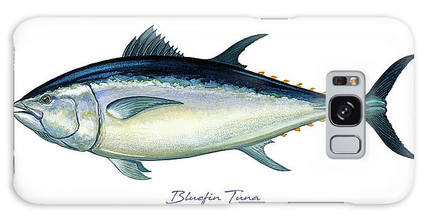 Bluefin Tuna Galaxy Case