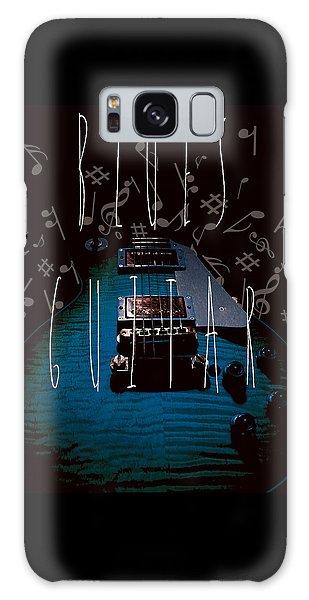 Blues Guitar Music Notes Galaxy Case
