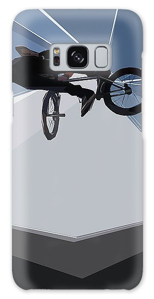 Bmx Biking  Galaxy Case
