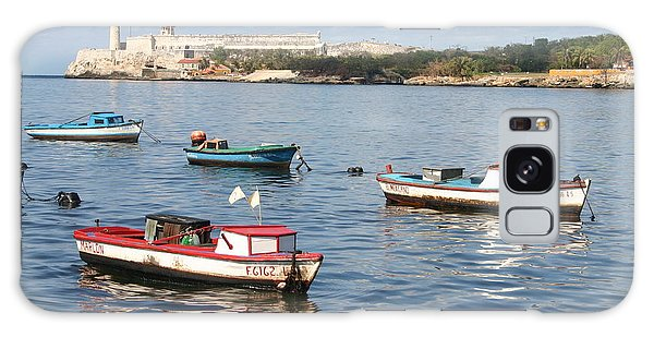 Boats In The Harbor Havana Cuba 112605 Galaxy Case