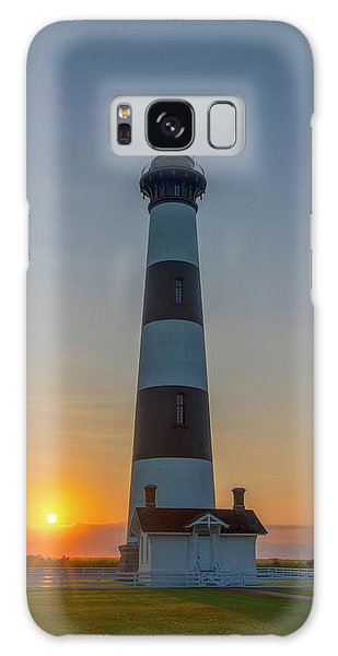Galaxy Case featuring the photograph Bodie Island, Sunrise, Obx by Cindy Lark Hartman