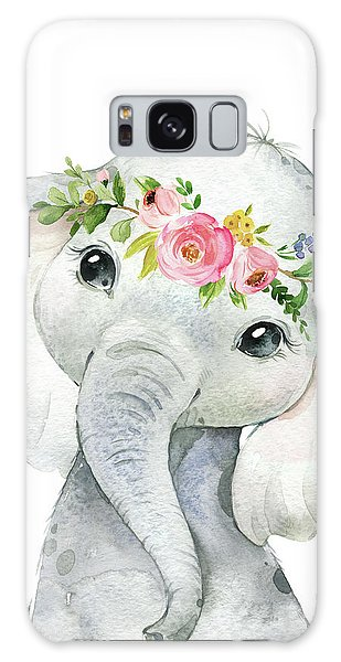 Wall Galaxy Case - Boho Elephant by Pink Forest Cafe