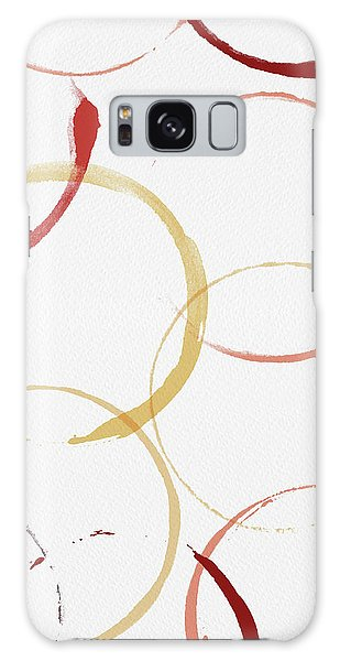 Bold Modern Wine Rings Art Galaxy Case