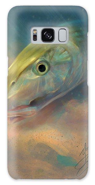 Bahamas Galaxy Case - Bonefish Portrait by Yusniel Santos