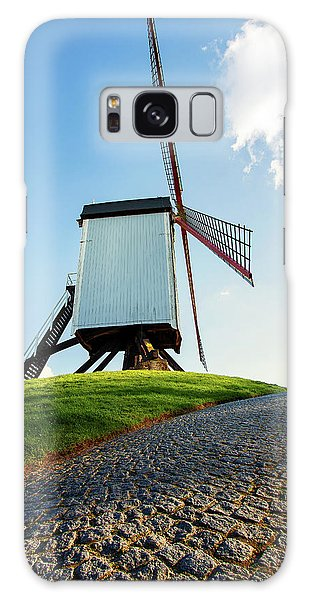 Bonne Chiere Windmill Bruges Belgium Galaxy Case