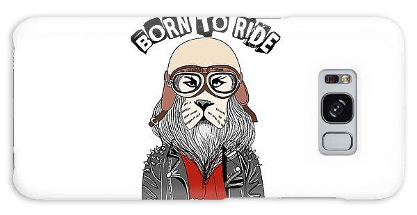 Born To Ride - Baby Room Nursery Art Poster Print Galaxy Case