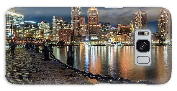 Boston At Blue Hour Galaxy Case