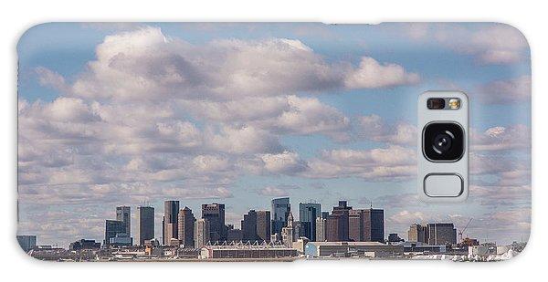 Boston Cityscape Galaxy Case