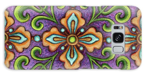 Botanical Mandala 10 Galaxy Case