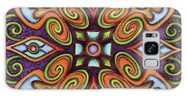 Botanical Mandala 11 Galaxy Case