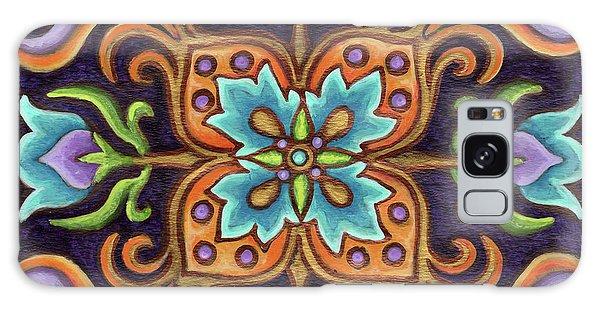 Botanical Mandala 12 Galaxy Case
