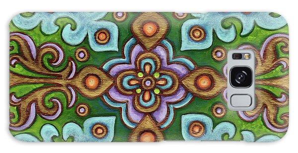 Botanical Mandala 4 Galaxy Case