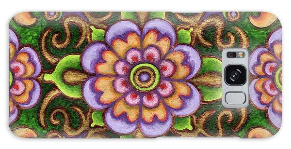 Botanical Mandala 5 Galaxy Case