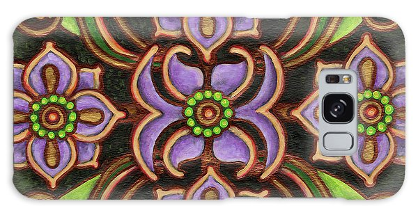 Botanical Mandala 6 Galaxy Case