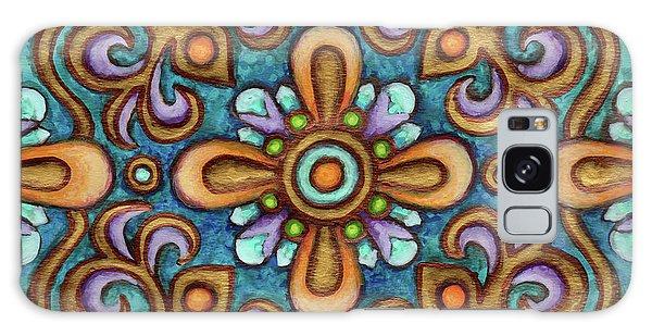 Botanical Mandala 7 Galaxy Case