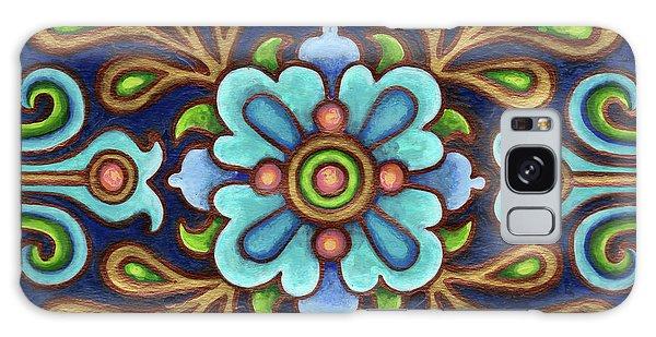 Botanical Mandala 9 Galaxy Case