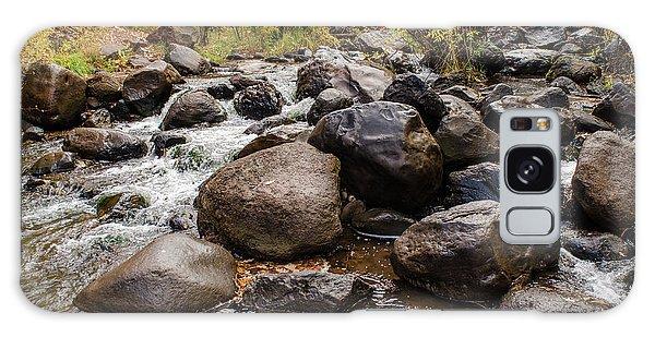 Boulders In Creek Galaxy Case