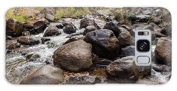 Boulders In Creek Galaxy Case