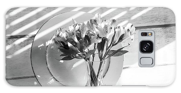 Bouquet And Plate-bw Galaxy Case
