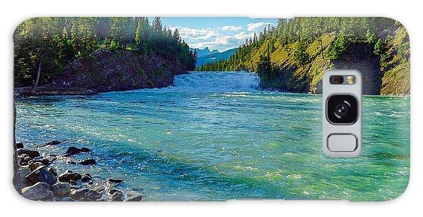 Bow River In Banff Galaxy Case