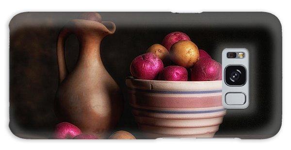 Potato Galaxy Case - Bowl Of Potatoes With Pitcher by Tom Mc Nemar