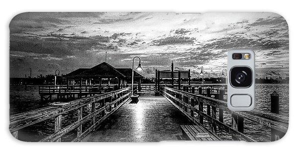 Bradenton Beach City Pier Galaxy Case