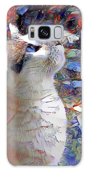 Brady The Half Siamese Half Tabby Cat Galaxy Case
