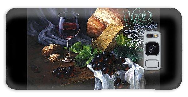 Bread And Wine Galaxy Case