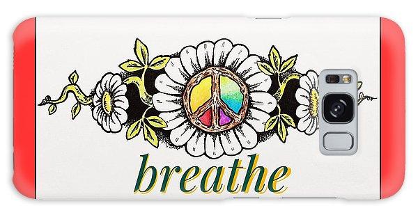 Houlton Galaxy Case - Breathe No.2 by Richard John Houlton