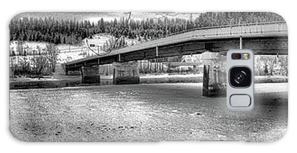 Bridge Over Frozen Waters Galaxy Case