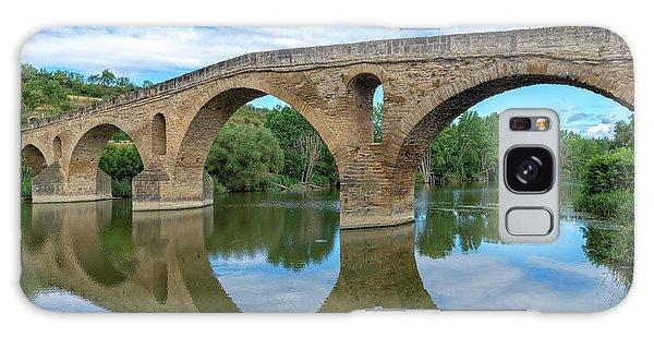 Bridge The Queen On The Way To Santiago Galaxy Case