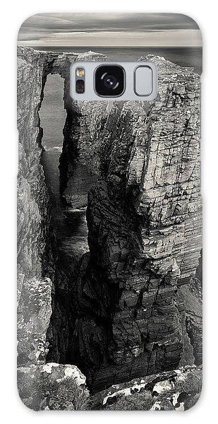 Sea Stacks Galaxy Case - Brig O' Stack by Dave Bowman
