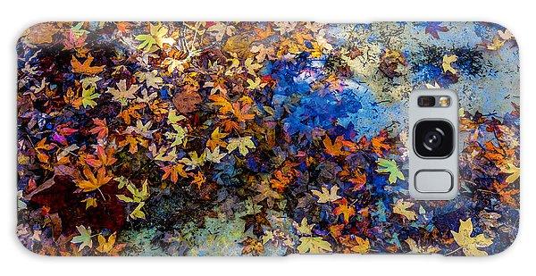 Texas Galaxy Case - Bright Beautiful Fall Foliage Floating by Richard A Mcmillin