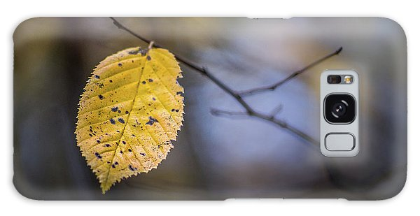 Bright Fall Leaf 1 Galaxy Case
