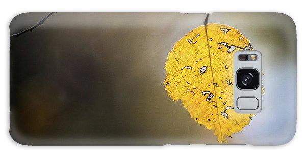 Bright Fall Leaf 7 Galaxy Case