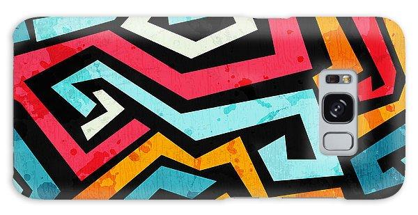 Splash Galaxy Case - Bright Graffiti Seamless Pattern With by Gudinny