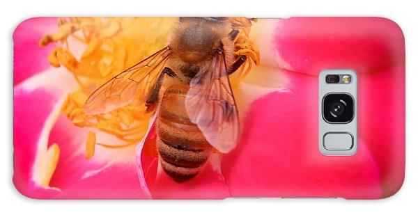 Brilliant Bee Galaxy Case