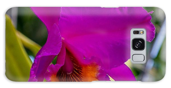 Brilliant Orchid Galaxy Case