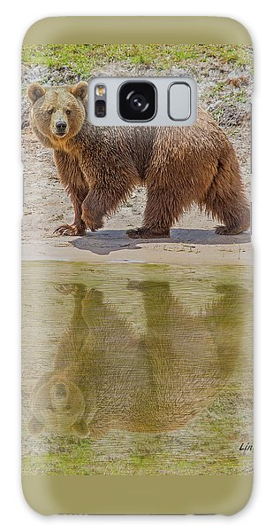 Brown Bear Reflection Galaxy Case