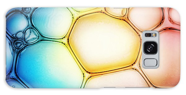 Drop Galaxy Case - Bubble Background by Triff