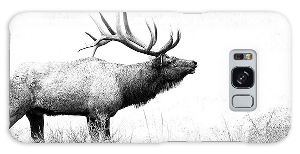 Bull Elk In Rut Galaxy Case
