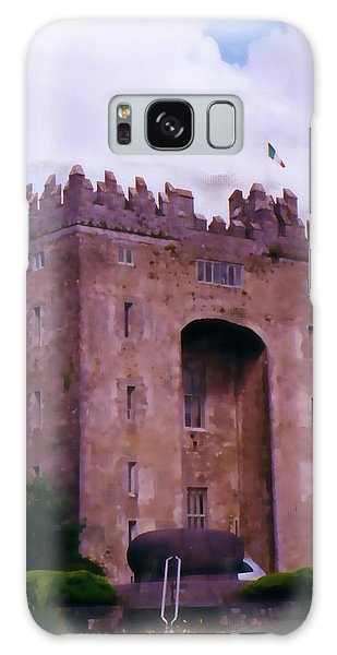Bunratty Castle Painting Galaxy Case