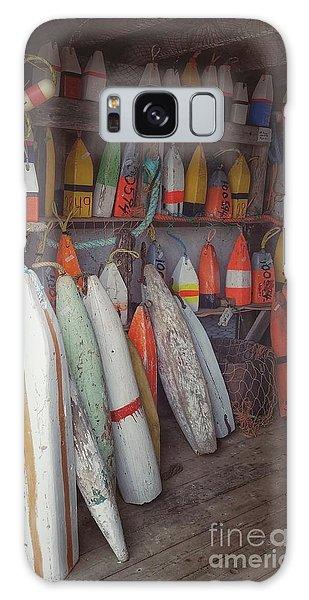 Buoys In A Sea Shack Galaxy Case