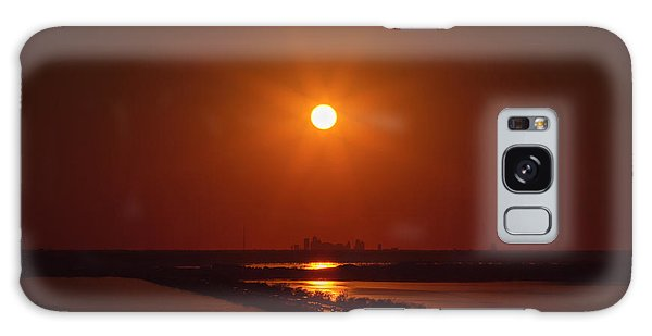 Burnt Orange Galaxy Case