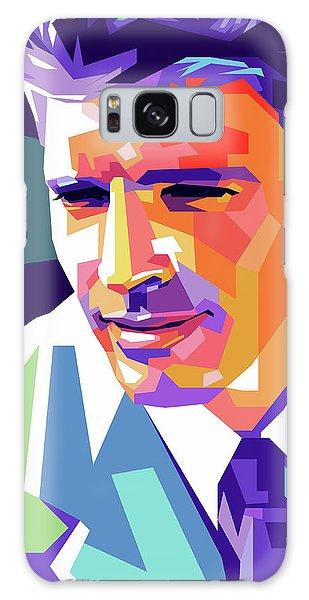 Burt Lancaster Pop Art Galaxy Case