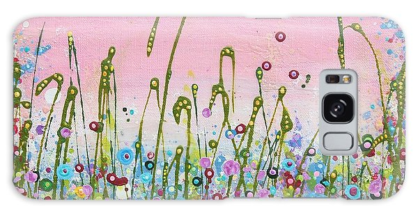 Buttercups And Lilacs Galaxy Case