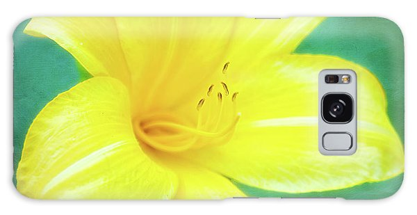 Buttered Popcorn Daylily In Her Glory Galaxy Case