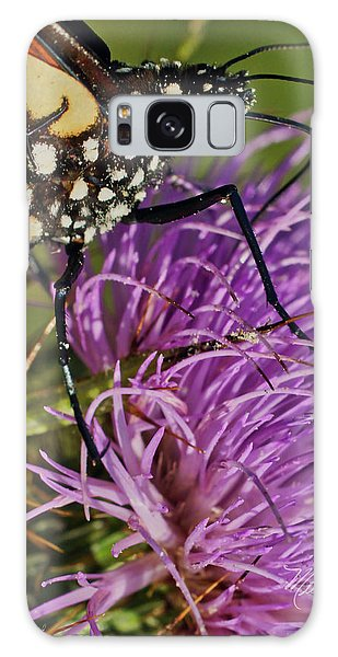 Butterfly Closeup Vertical Galaxy Case