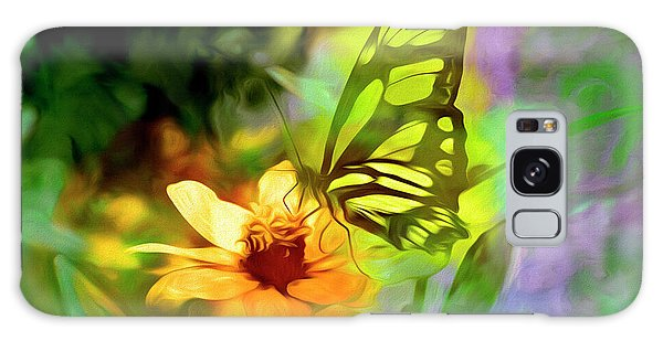 Brookside Gardens Galaxy Case - Butterfly Dream by Paul Coco