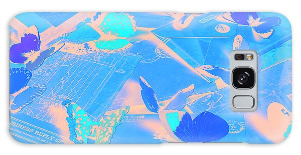 Colours Galaxy Case - Butterfly Effects by Jorgo Photography - Wall Art Gallery